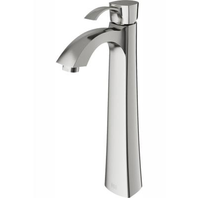 Otis Single Hole 1-Handle Bathroom Faucet in Brushed Nickel