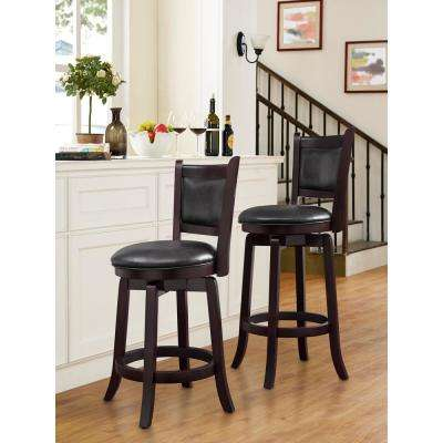 Abbey 24 in. Upholstered Barstool