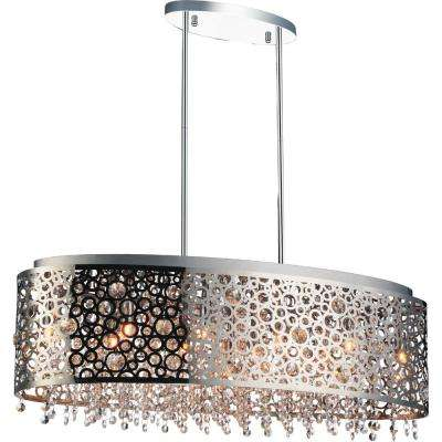 Bubbles 11-light chrome chandelier