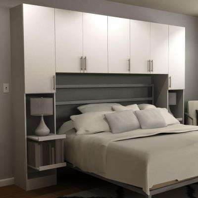 Horizon 1-Piece White Queen Bedroom Kit