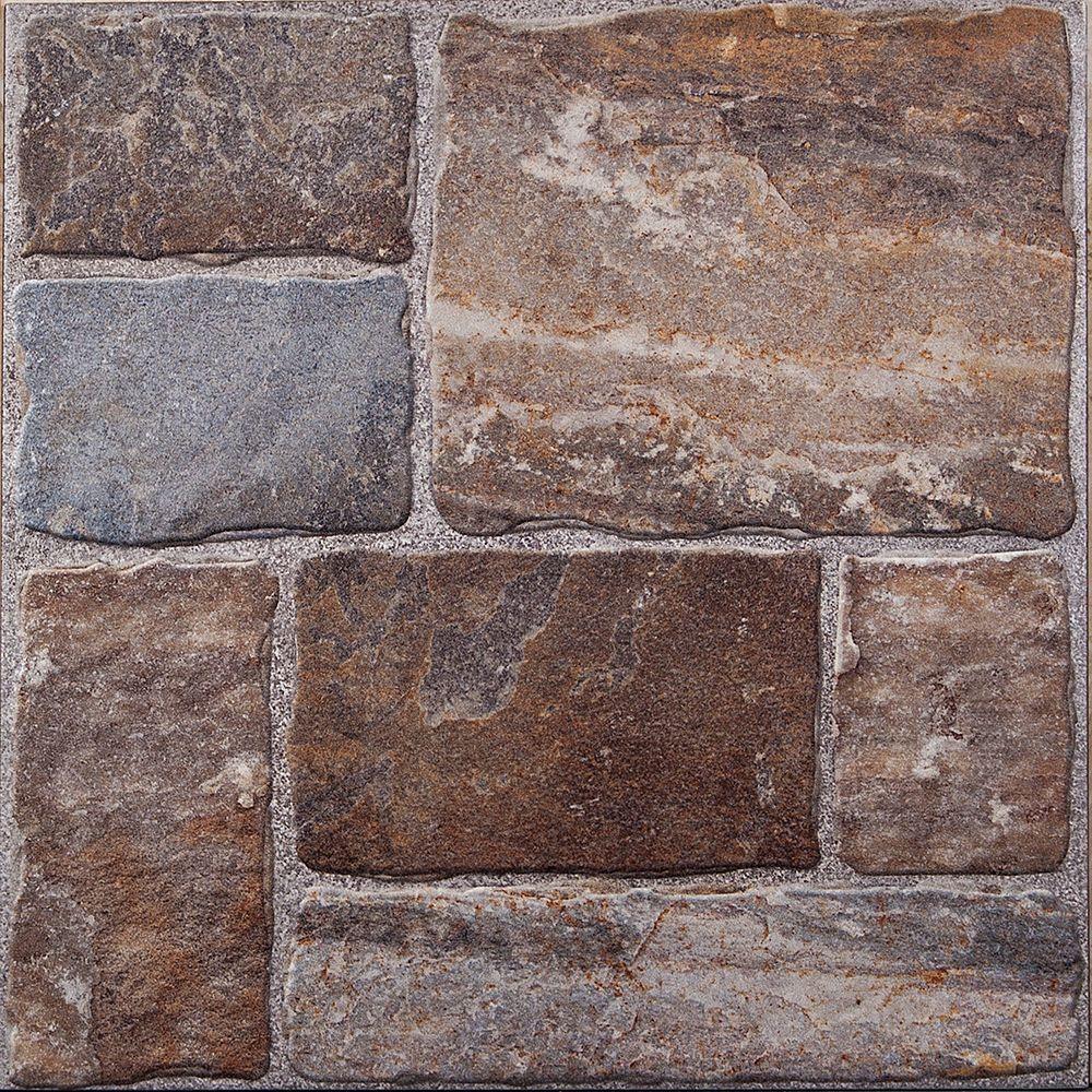 Cobblestone ii 20 in x 20 in ceramic floor tile 2691 sq ft cobblestone ii 20 in x 20 in ceramic floor tile 2691 sq dailygadgetfo Gallery