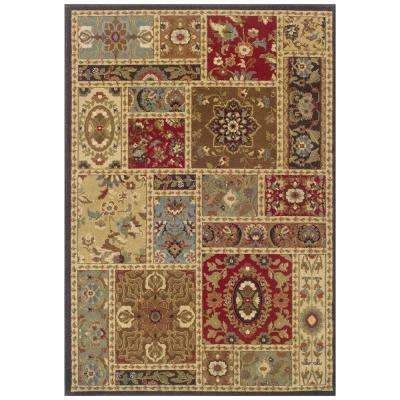 Camille Chalet Multi 7 ft. 10 in. x 10 ft. Area Rug