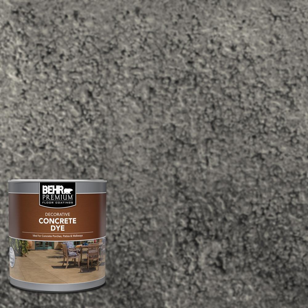 BEHR Premium 1 qt. #CD-828 Arctic Black Interior/Exterior Concrete Dye
