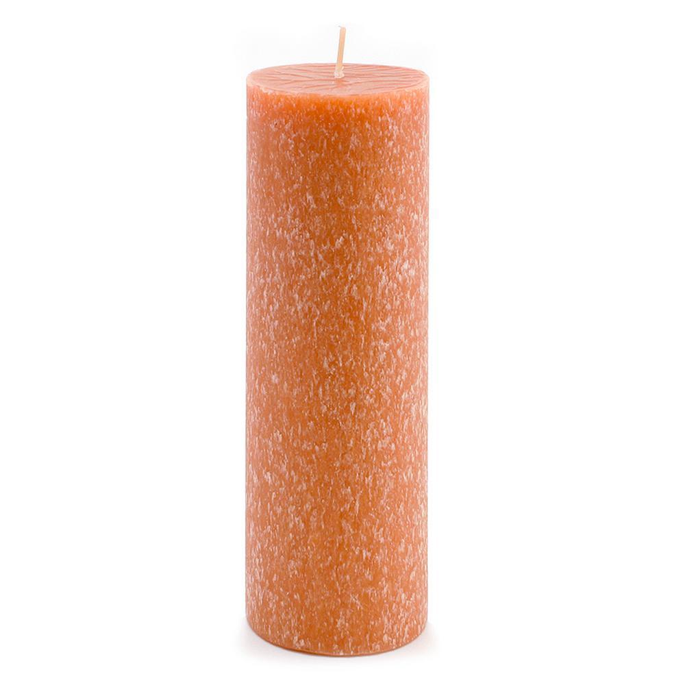 3 in. x 9 in. Timberline Rust Pillar Candle
