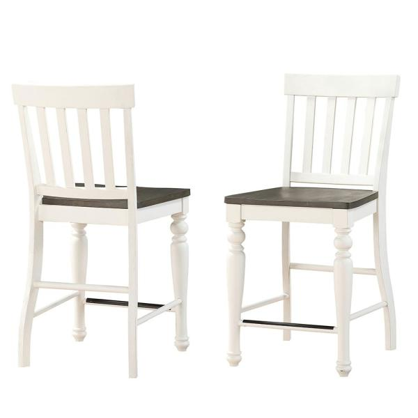 Steve Silver Joanna 2-Tone Counter Chair (Set of 2)