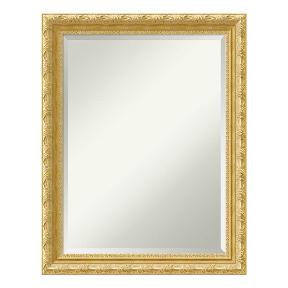 Amanti Art Versailles Gold Wood 22 In X 28 Traditional Bathroom Vanity Mirror