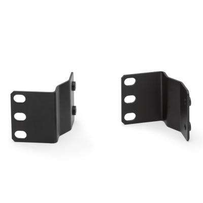 Cable Management Solutions 5 in. Channel Center Mounting Bracket, Black