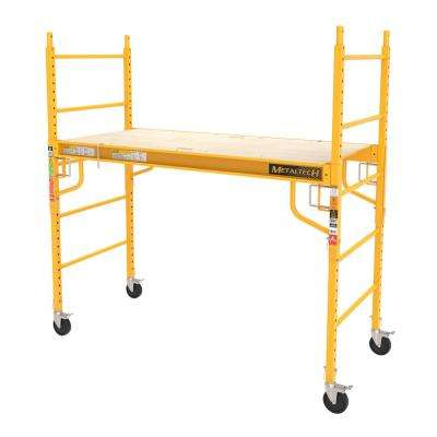 Job Site Series 6 ft. x 6 ft. x 2-1/2 ft. Baker Scaffold, 1000 lbs. Load Capacity