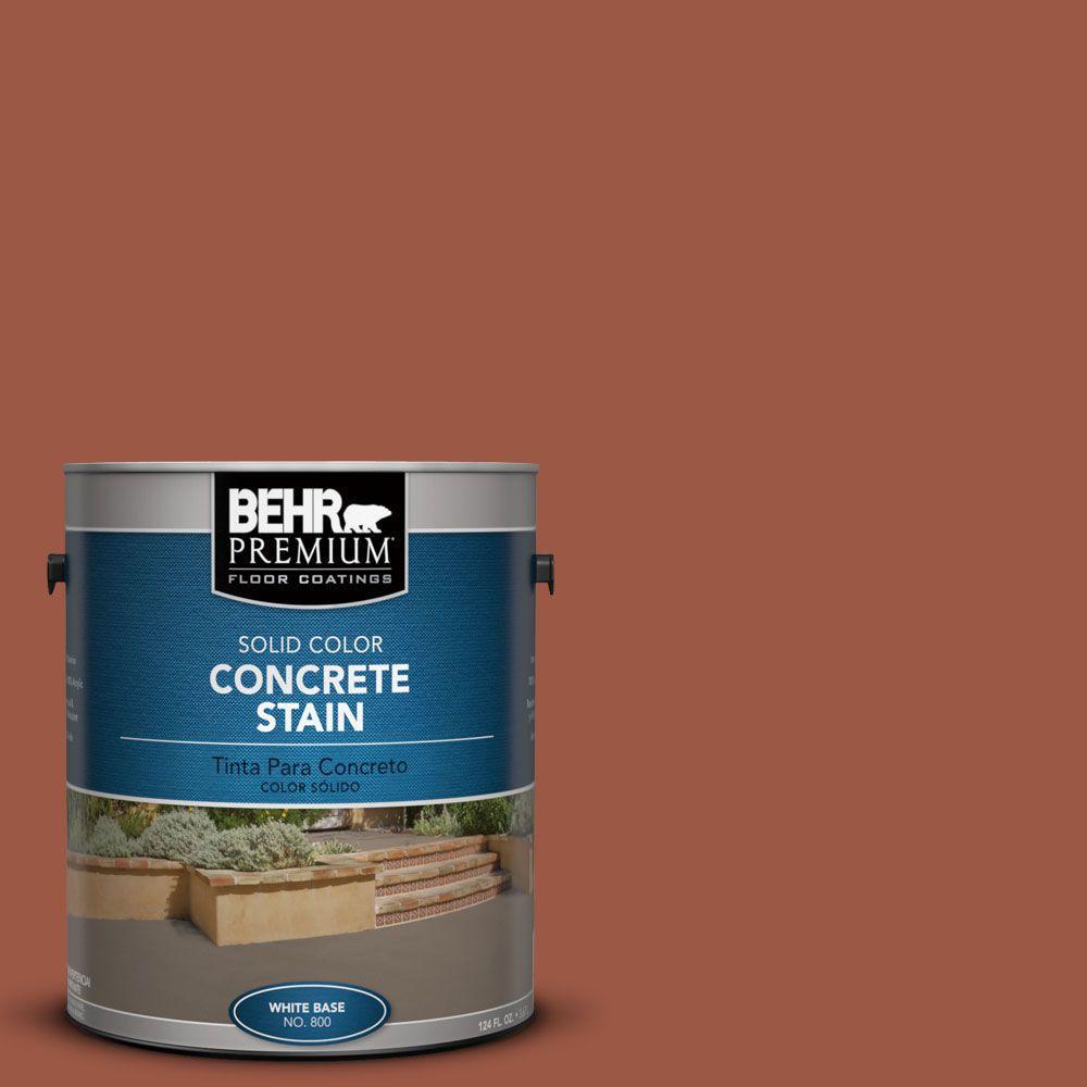 1 gal. #PFC-15 Santa Fe Solid Color Interior/Exterior Concrete Stain