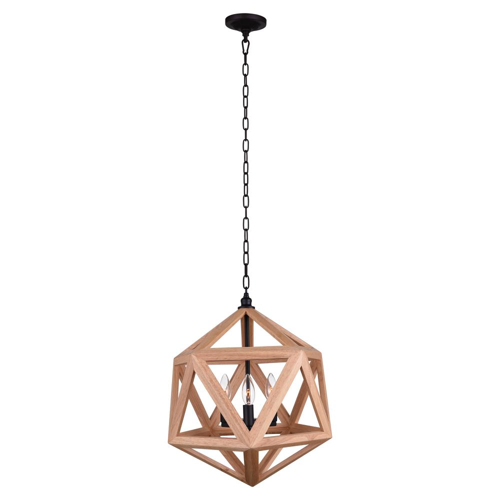 Cwi lighting lante 3 light black chandelier 9945p17 3 101 the home cwi lighting lante 3 light black chandelier aloadofball Images