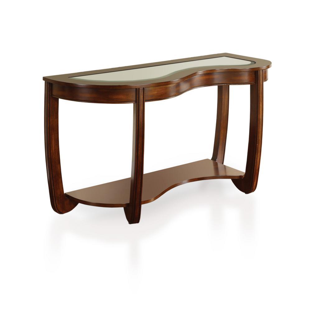 Lepita Dark Cherry Sofa Table
