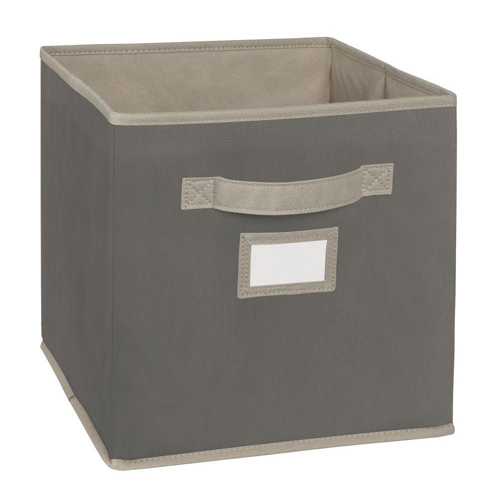 ClosetMaid 10.5 in. W x 11 in. H x 10.5 in. D Gray Fabric Drawer