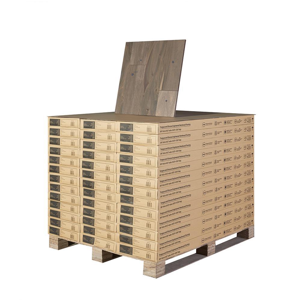 Acacia Balboa Beach 3/8 in. Tx 6 1/2 in. Wide x Varying Length Engineered Hardwood Flooring (997.21 sq. ft./pallet)