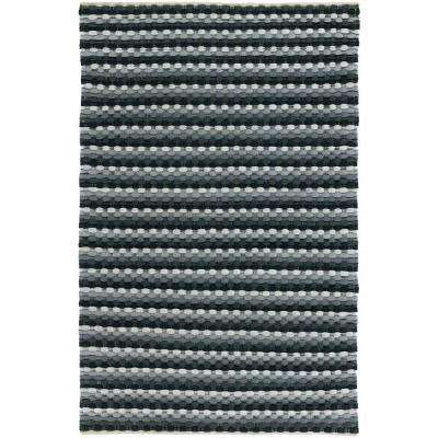 Dalamere Charcoal/Grey/Ivory 5 ft. x 7 ft. 6 in. Indoor Area Rug