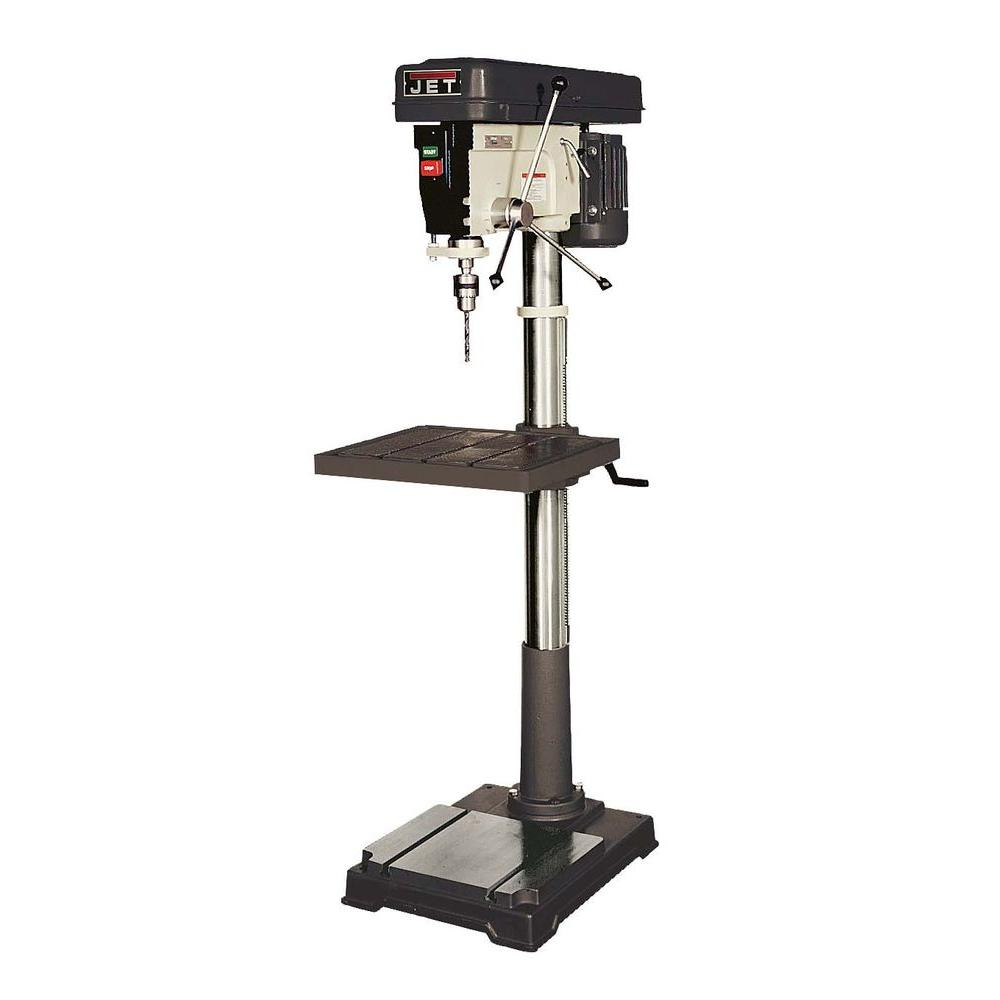 1 HP 20 in. Floor Standing Drill Press, 12-Speed, 115-Volt, J-2550