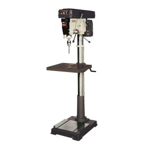 Click here to buy JET 1 HP 20 inch Floor Standing Drill Press, 12-Speed, 115-Volt, J-2550 by JET.