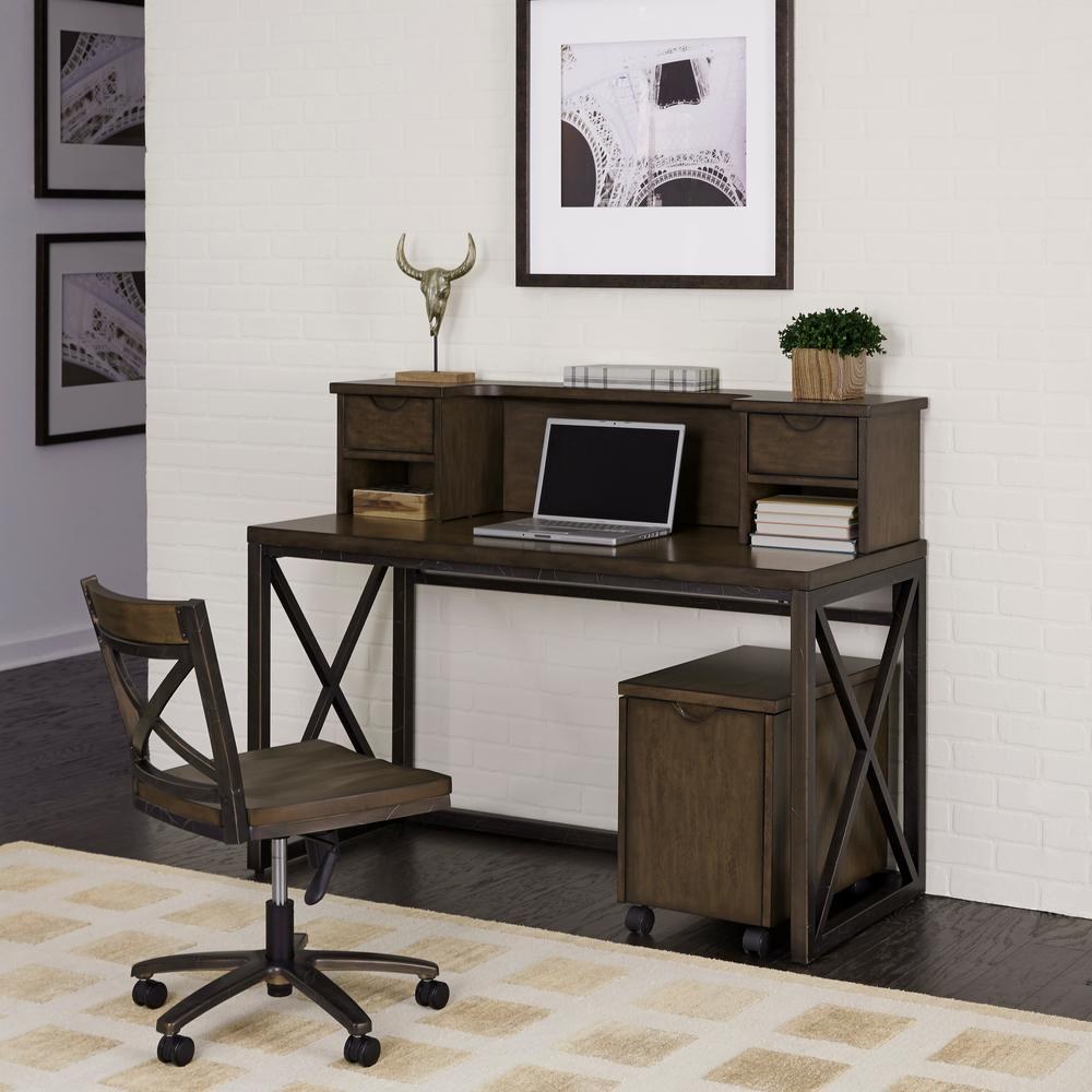 Home Decorators Collection Edinburgh 7 Piece Ivory Modular Office Suite 3062400410 The Home Depot