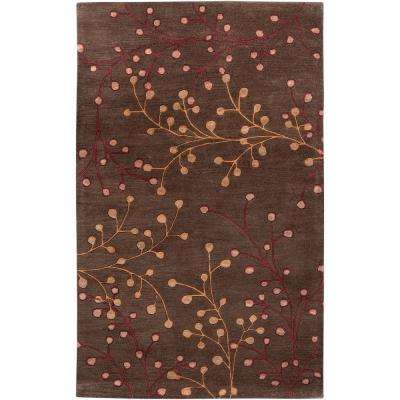 Bari Chocolate 10 ft. x 14 ft. Area Rug