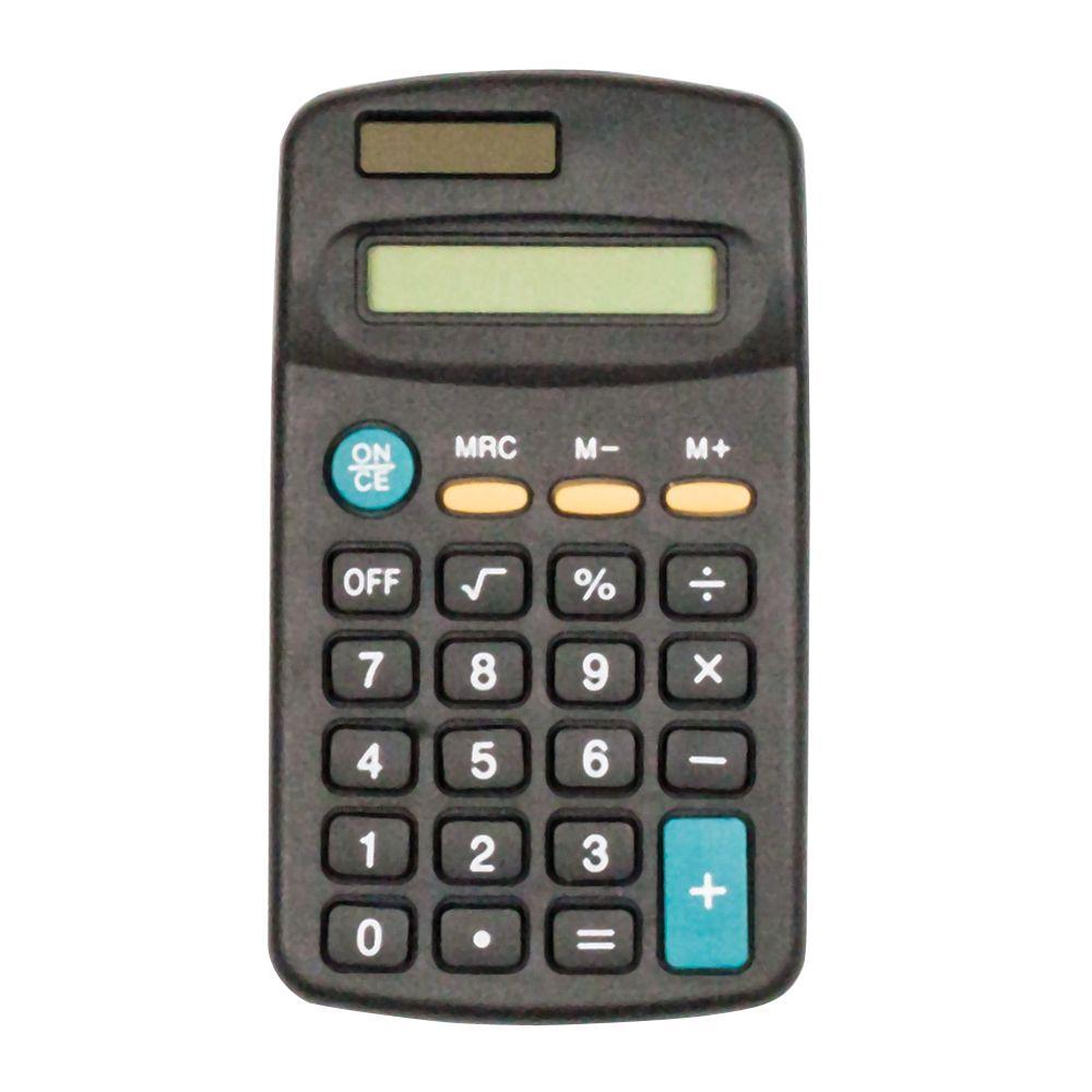 Small Black Calculator