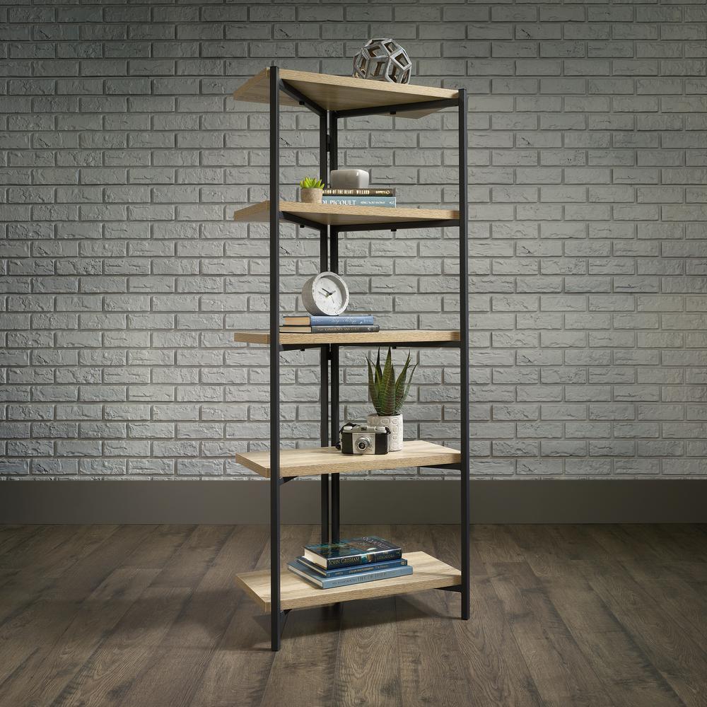 North Avenue Charter Oak 5-Shelf Bookcase