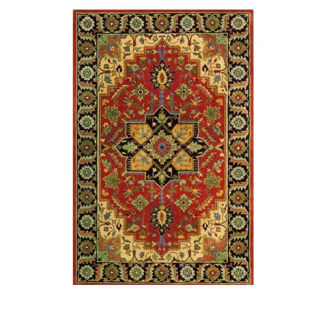 Home decorators collection normandie rust 8 ft x 11 ft for Home decorators catalog rugs