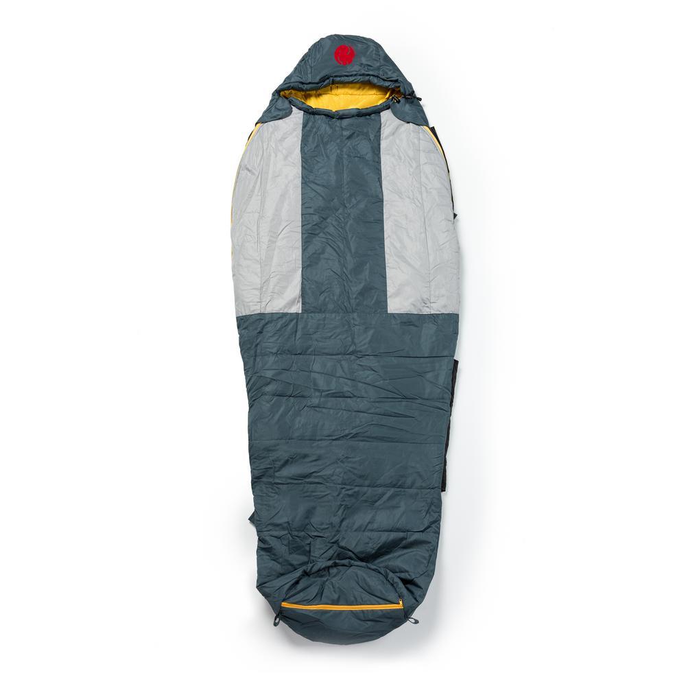M-3D 30°F/-1.1 Ultra-Lightweight Multi- Down Mummy Sleeping Bag (Reg)