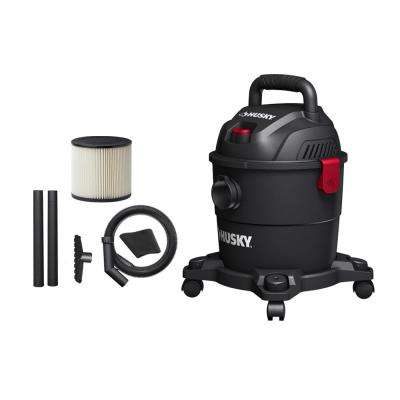 4 Gal. Portable Poly Wet/Dry Vacuum