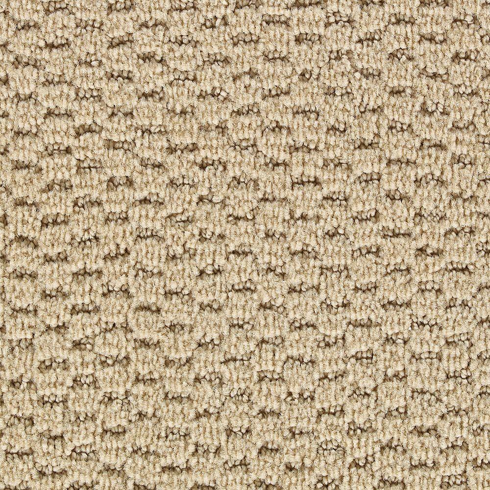 Martha Stewart Living Sandringham Brown Alpaca - 6 in. x 9 in. Take Home Carpet Sample
