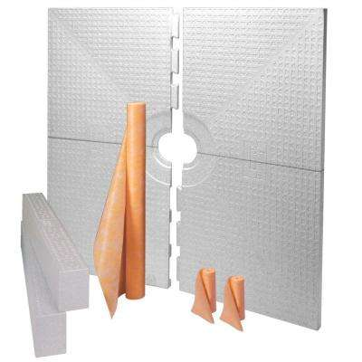 Kerdi-Shower-Kit 72 in. x 72 in. Kit without Drain