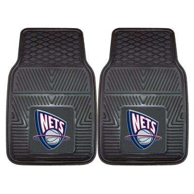 new arrival 6bd56 8ac53 New Jersey Nets 18 in. x 27 in. 2-Piece Heavy Duty Vinyl Car Mat