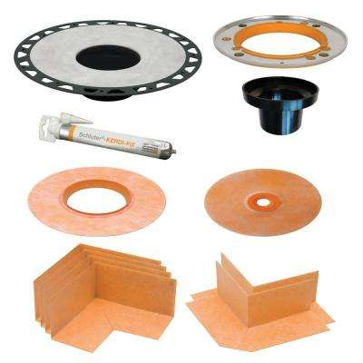 Kerdi-Drain 5-1/4 in. ABS Adaptor Kit