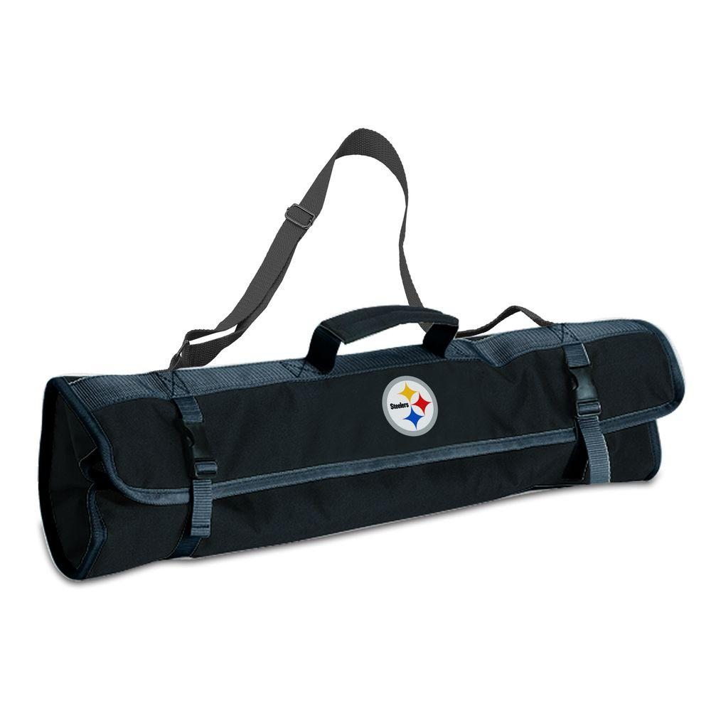 Picnic Time Pittsburgh Steelers 3-Piece BBQ Tote