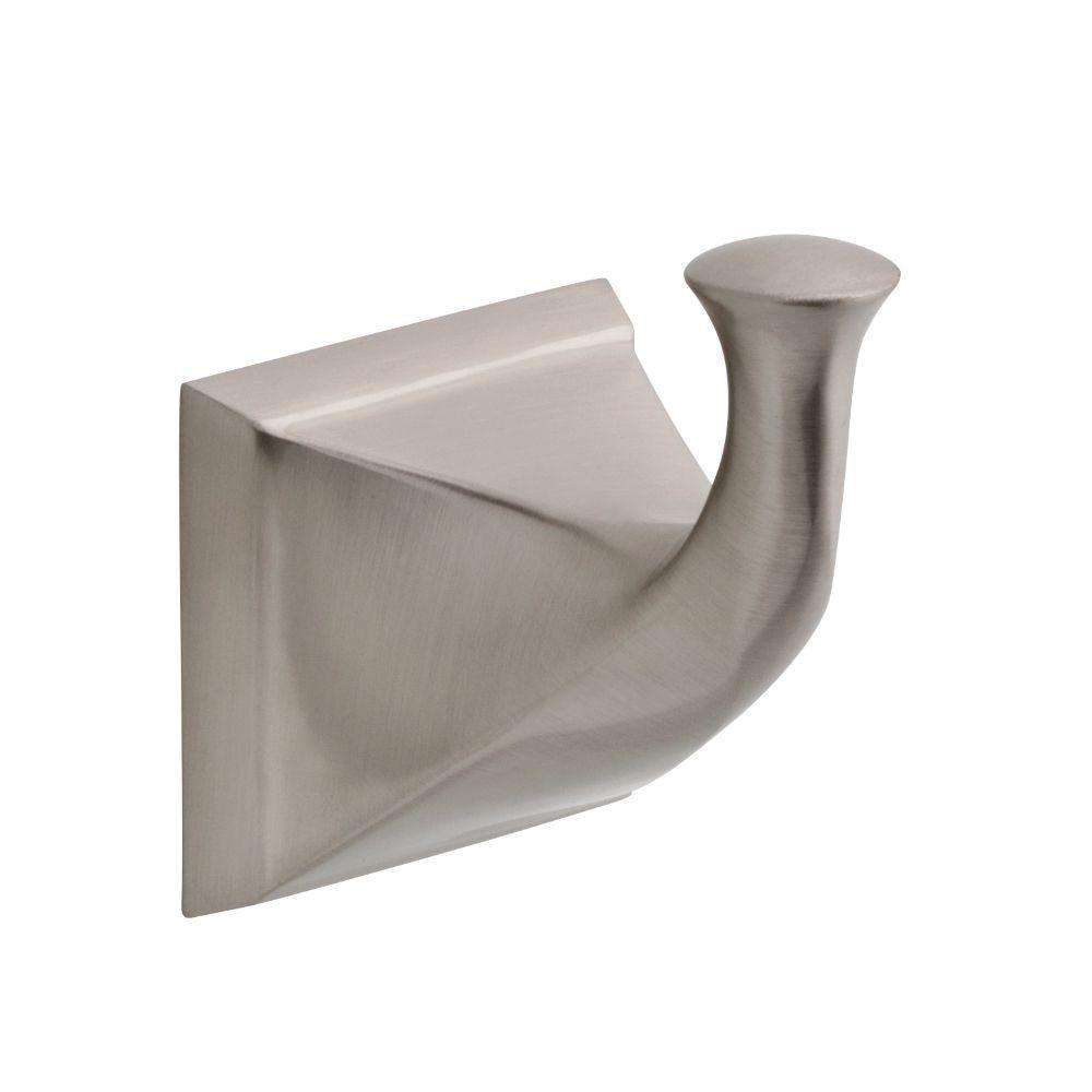 Delta Everly Single Towel Hook in Brushed Nickel