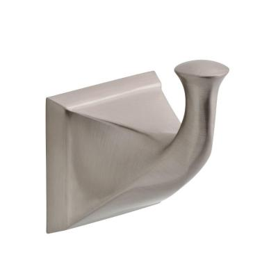 Everly Single Towel Hook in Brushed Nickel