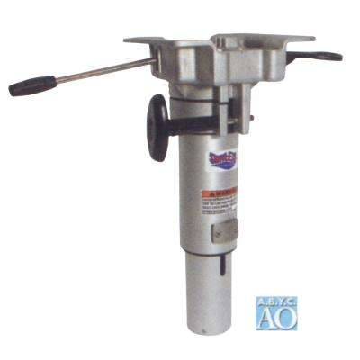 Swivel-Eze LakeSport Hydraulic Power Pedestal with Seat Mount 13 in. to 16 in. Adjustable Height