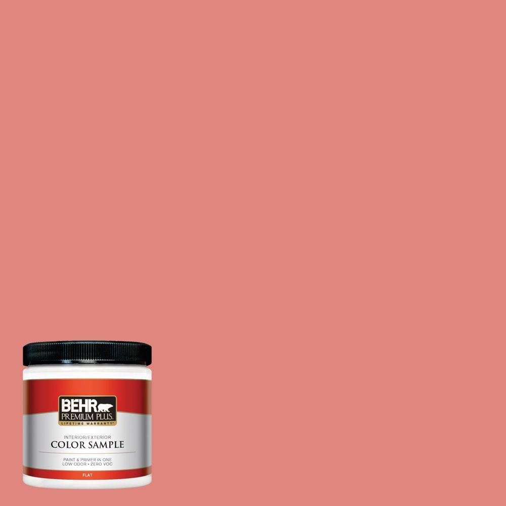 8 oz. #170D-5 Mellow Coral Interior/Exterior Paint Sample