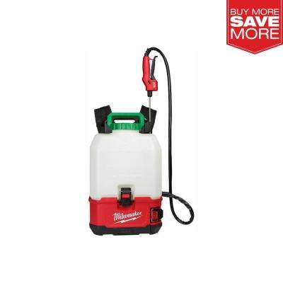 M18 18-Volt 4 Gal. Lithium-Ion Cordless Switch Tank Backpack Pesticide Sprayer (Tool-Only)