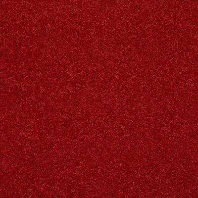 Carpet Sample - Watercolors II 12 - In Color Cherry Texture 8 in. x 8 in.