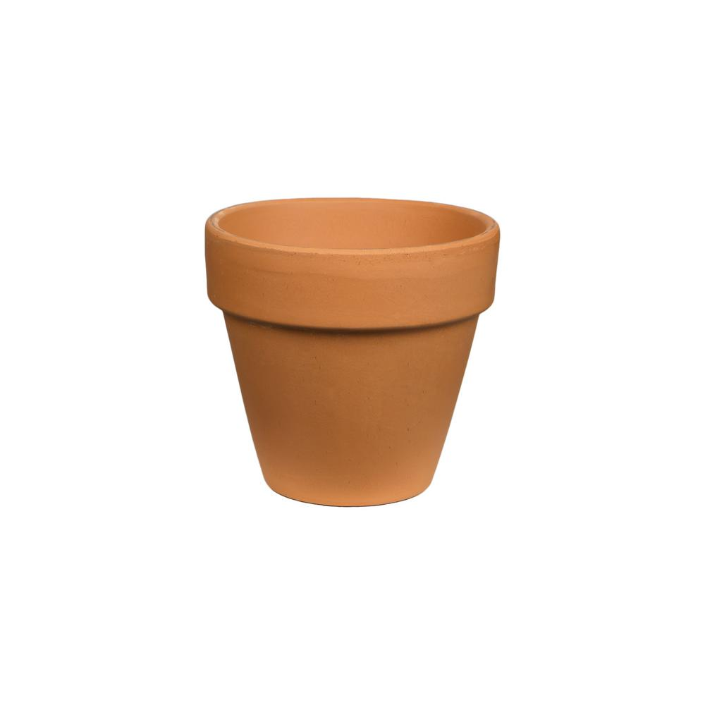 pennington 4 in. terra cotta clay pot-100043011 - the home depot
