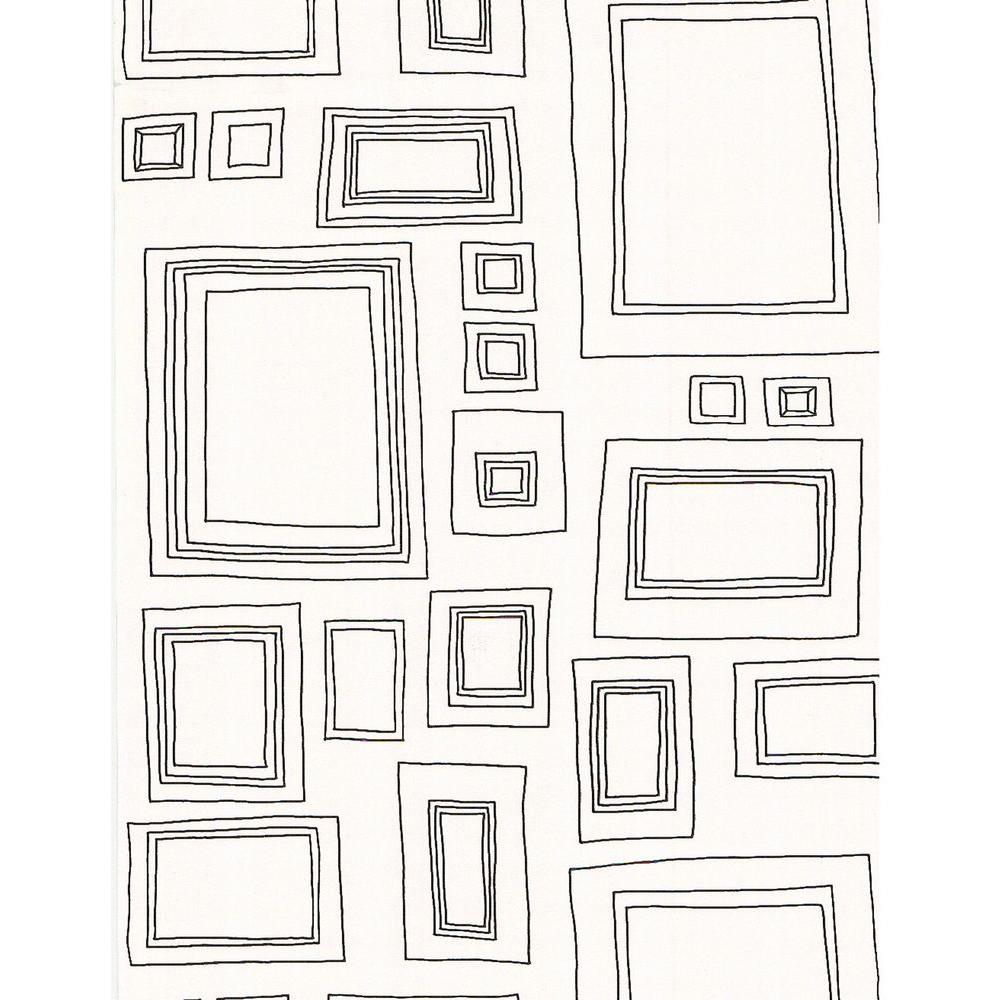 Graham & Brown Frames Black Wallpaper-52050 - The Home Depot