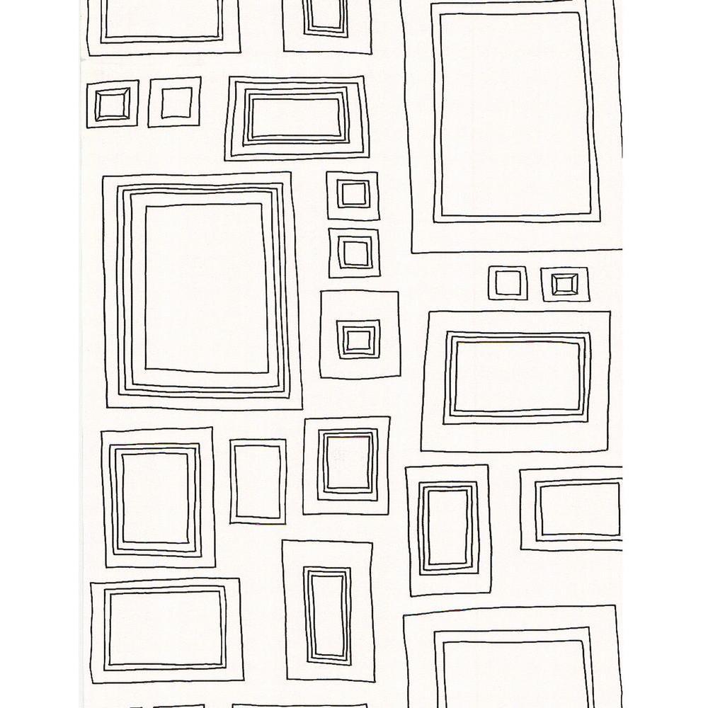 Frames Black Wallpaper