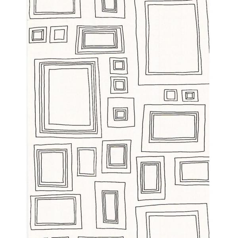 Graham & Brown Frames Black Wallpaper
