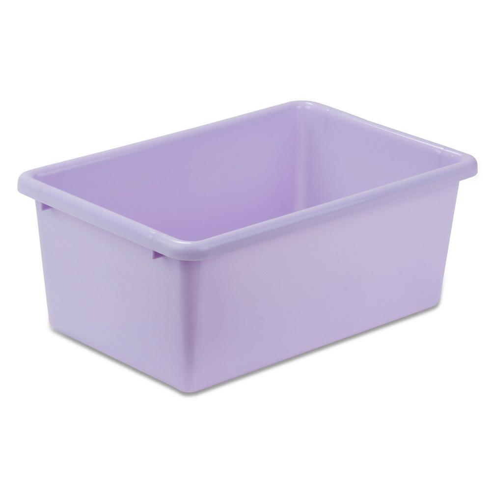 Honey Can Do 7 9 Qt Storage Bin In Purple