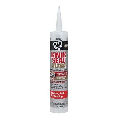 Kwik Seal Ultra 10.1 oz. Clear Premium Kitchen and Bath Sealant