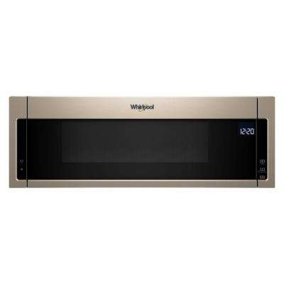 1.1 cu. ft. Over the Range Low Profile Microwave Hood Combination in Sunset Bronze