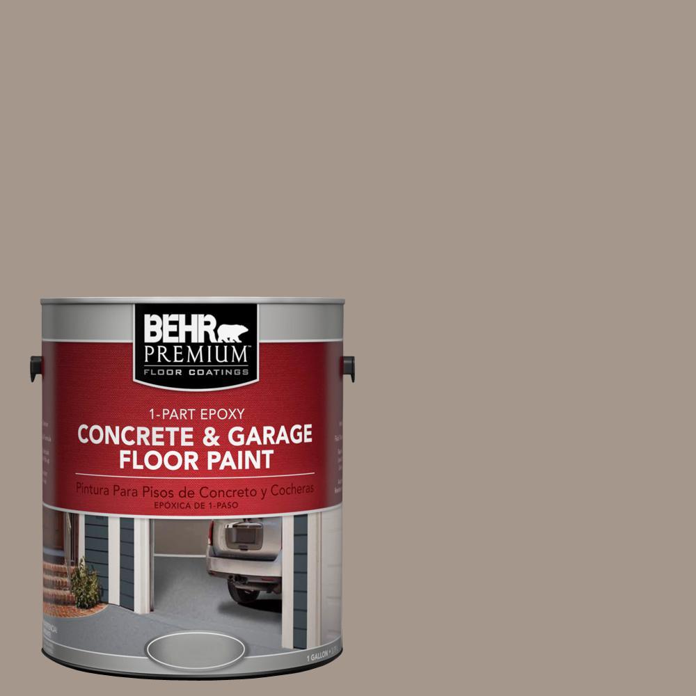 1 gal. #N220-4 Shiitake 1-Part Epoxy Concrete and Garage Floor Paint