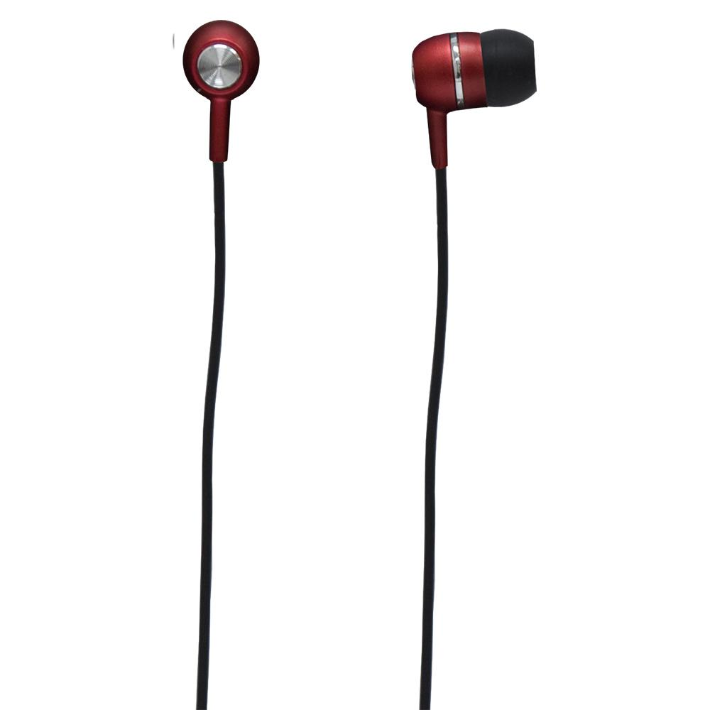 Headphone Earbuds - Red