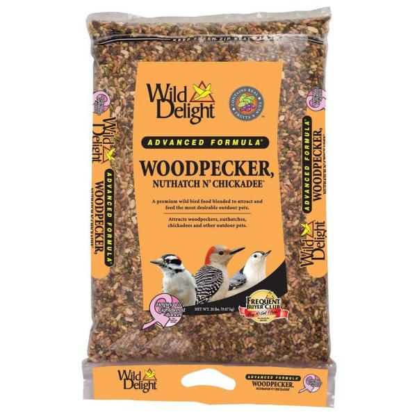 20 lb. Woodpecker Bird Food Bag