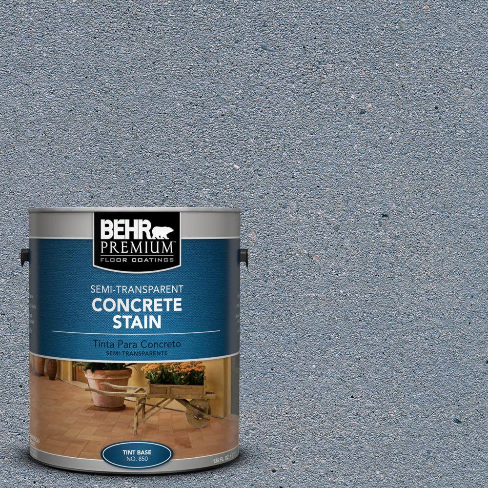 1 gal. #STC-14 Water Stone Semi-Transparent Interior/Exterior Concrete Stain