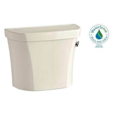 Wellworth 1.0 GPF Single Flush Toilet Tank Only in Almond